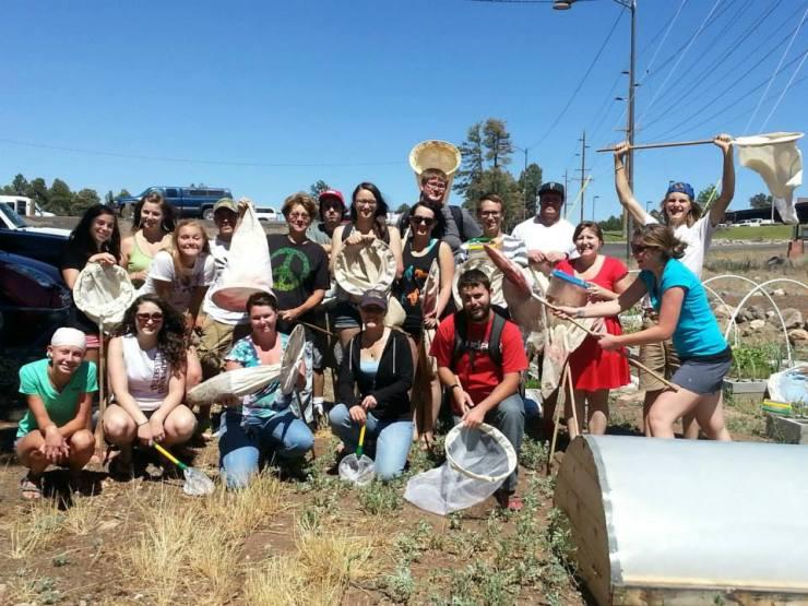 BIO 345 Sustainable Botany class, Summer 2013