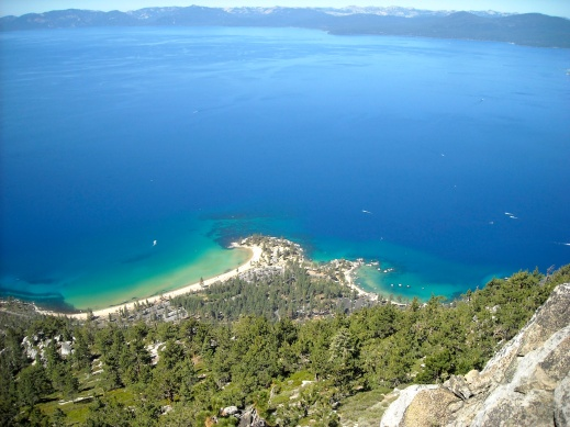 Lake Tahoe From the TRT