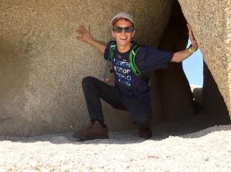 The desert rocks!