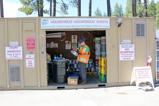 Organizing Household Hazardous Waste